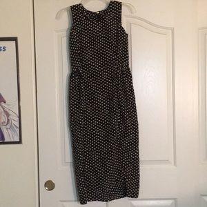 Formal Black Maxi Dress with Slit